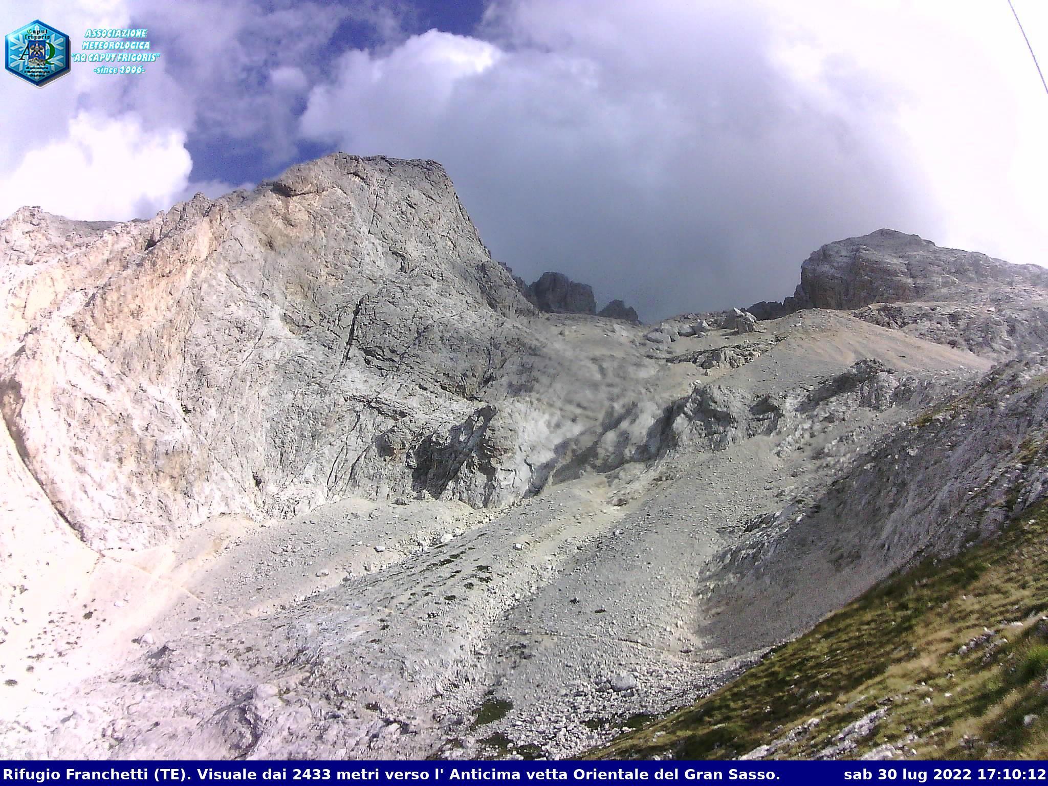 Webcam al Rifugio Franchetti